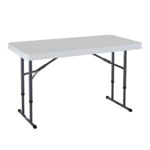 Adjustable Height Trestle Table-0