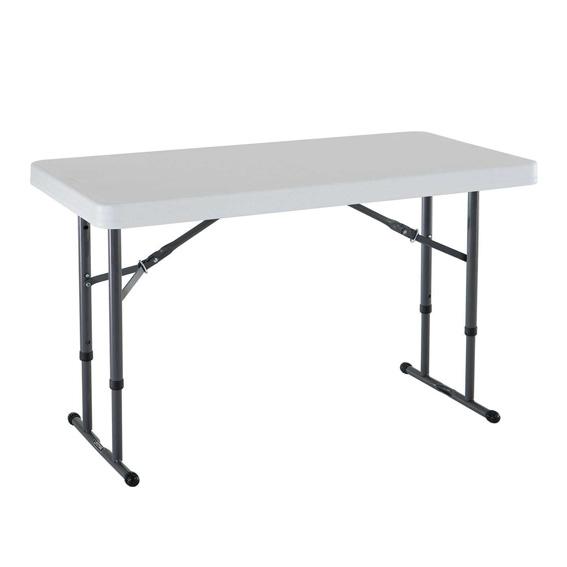 Adjustable Height Trestle Table-0
