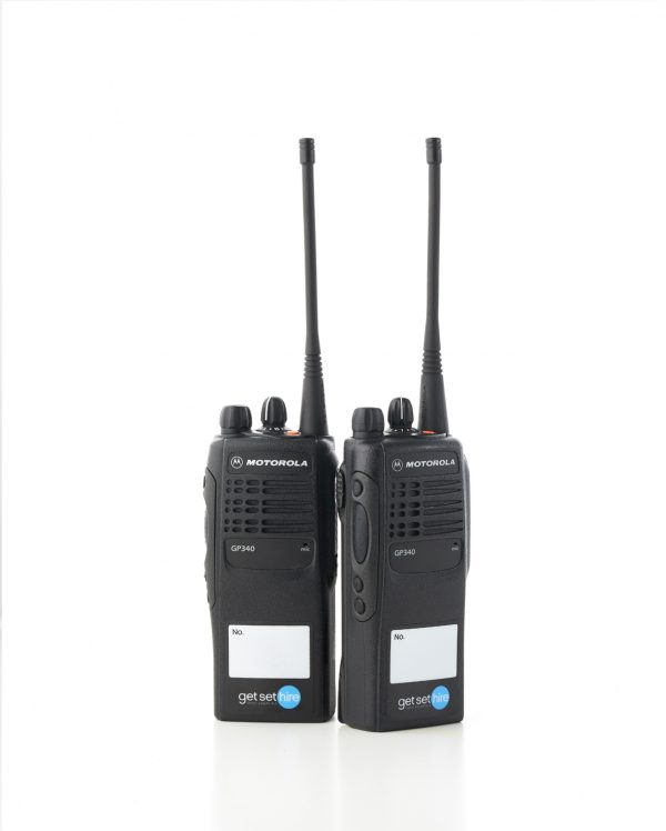 Motorola GP340 Radio Hire