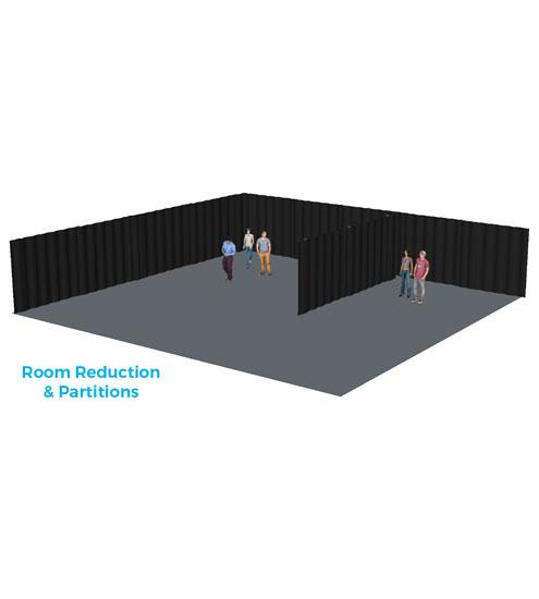 Curtain System/Room Divider-721