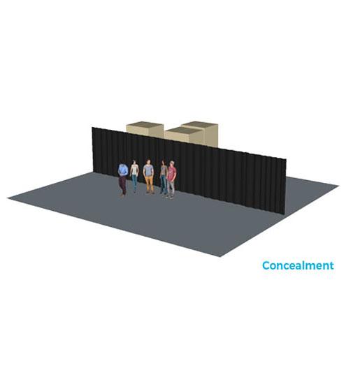 Curtain System/Room Divider-724