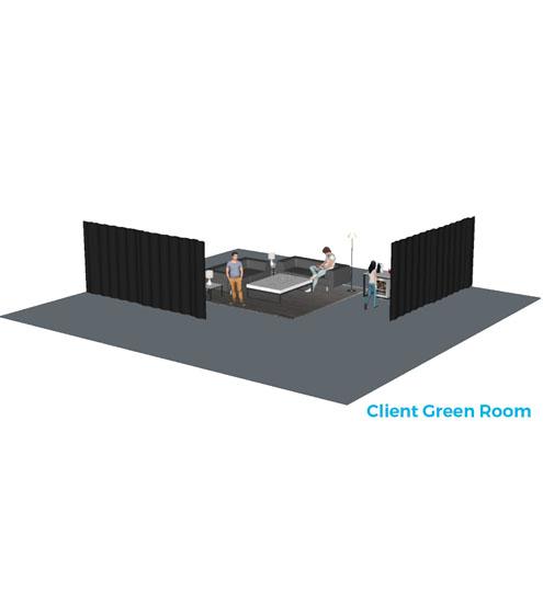 Curtain System/Room Divider-722