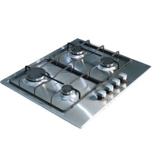 Stainless Steel 4-Burner Hob (front controls)-0