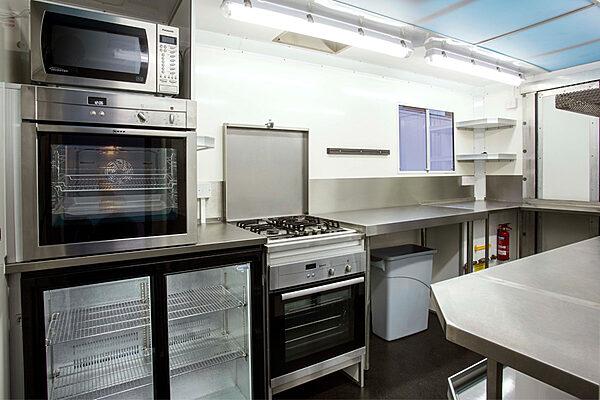 Mobile Kitchen Truck Interior