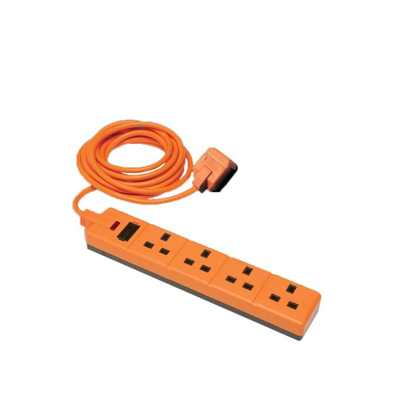 4-Way Extension Lead 2m-0
