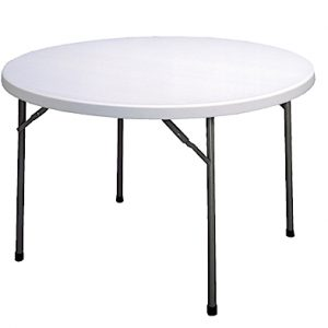 Round Trestle Table-0