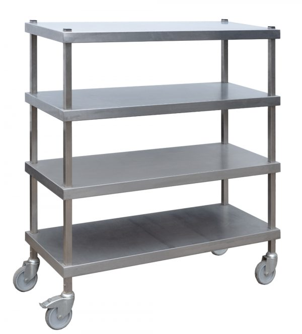 Stainless Steel Shelving Unit-0