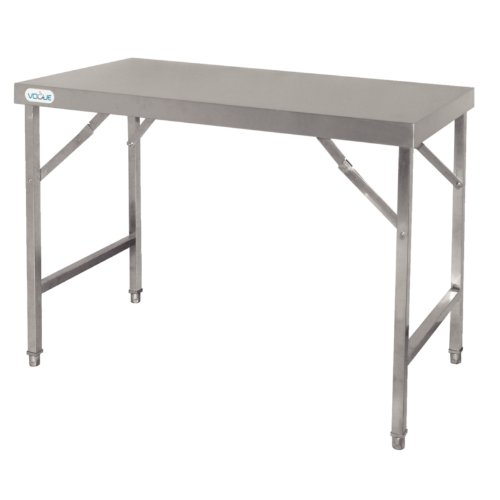Stainless Steel Trestle Table-0
