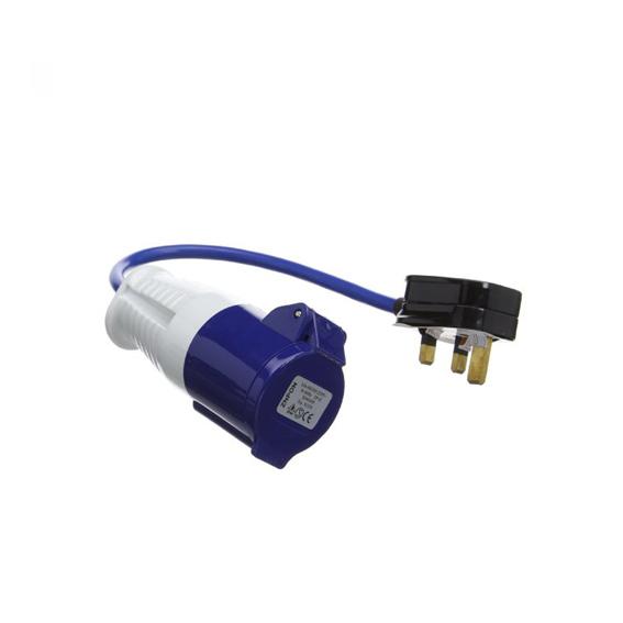 Fly lead 13A plug to 16A socket-0