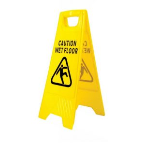 Wet Floor Hazard Warning Sign-0