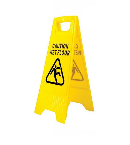 Wet Floor Hazard Warning Sign-0
